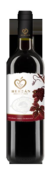 detail víno Herzán - Alibernet