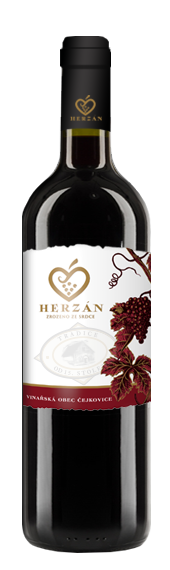 detail víno Herzán - Dornfelder